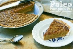 Paleo Pumpkin Pie from www.everydaymaven.com