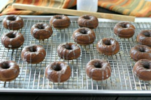 Grain Free Gingerbread Doughnuts from www.everydaymaven.com