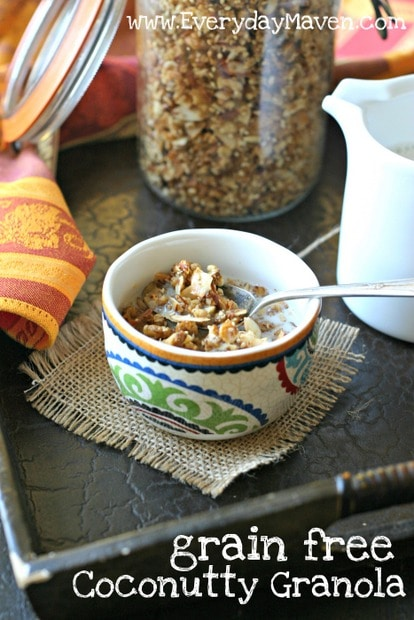 Paleo Granola Recipe from www.everydaymaven.com