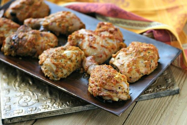 Roasted Pepper Chicken + Food Blogger Cookbook Swap!