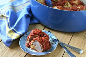 Stuffed Cabbage {Prakas}