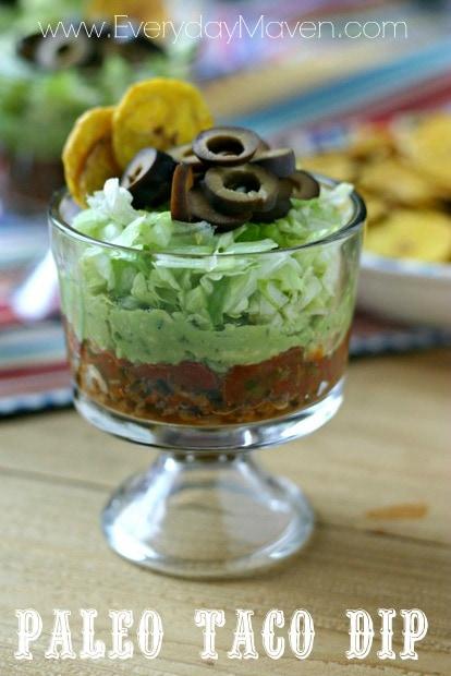 Paleo Taco Dip from www.everydaymaven.com