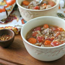 Italian Sausage and Cabbage Soup from www.everydaymaven.com