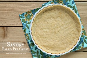 Savory Paleo Pie Crust from www.everydaymaven.com