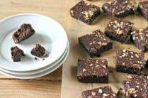 Hazelnut Brownies. Paleo, Grain Free and Gluten Free from www.EverydayMaven.com