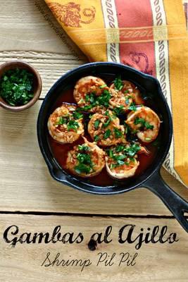 Shrimp Pil Pil (Gambas al Ajillo) Tapas from www.EverydayMaven.com