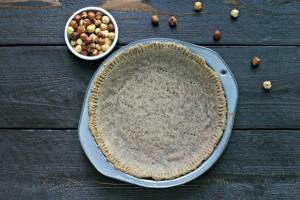 Hazelnut Pie Crust {Paleo, Gluten Free, Grain Free}