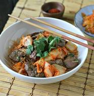 Bulgogi Inspired Beef Kabobs from www.everydaymaven.com