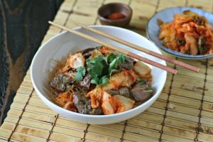 Bulgogi Inspired Beef Kabobs