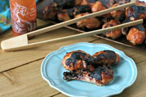 Honey Sriracha Chicken from www.EverydayMaven.com