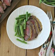 Horseradish Crusted London Broil from www.everydaymaven.com