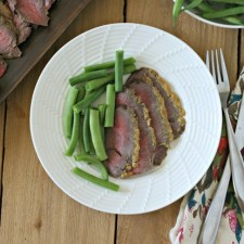 Horseradish Crusted London Broil (Paleo)