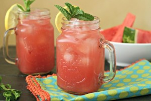Watermelon Cooler (Mocktail or Cocktail)