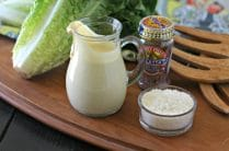 Homemade Creamy Caesar Dressing from www.EverydayMaven.com