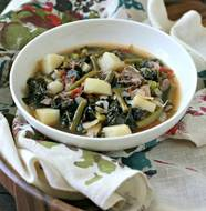 Beef and Vegetable Soup from www.EverydayMaven.com