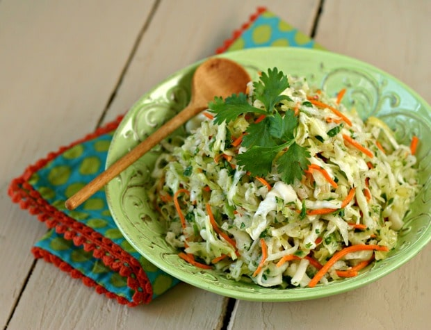 Jicama Slaw (Vegan) from www.EverydayMaven.com