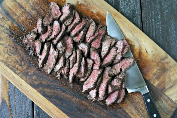 Cast Iron Hanger Steak