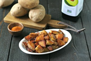 Quick Crispy Home Fries from www.EverydayMaven.com
