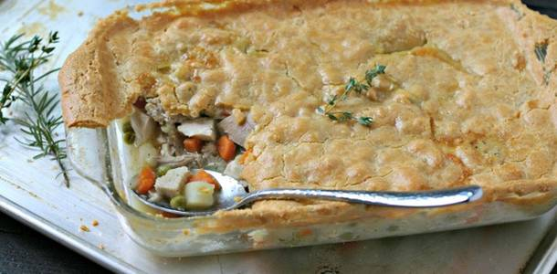 Paleo Chicken Pot Pie from www.EverydayMaven.com