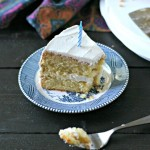 Grain Free Vanilla Bean Birthday Cake from www.EverydayMaven.com