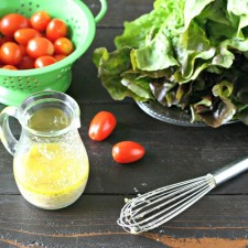 Raw Garlic Dressing