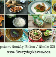 Free Jump Start {Paleo and Whole30} Weekly Meal Plan from www.EverydayMaven.com