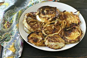 Indian Spiced Roasted Cabbage Steaks