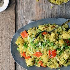 Thai Pineapple Fried Cauliflower Rice with Chicken