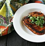 Taco Seasoned Pork Chops from www.EverydayMaven.com