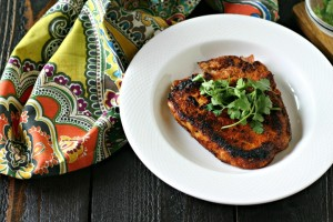 Taco Seasoned Pork Chops