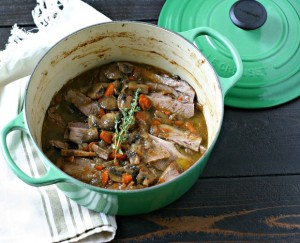 Paleo Passover Brisket from www.EverydayMaven.com