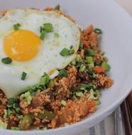 Korean Style Cauliflower Rice