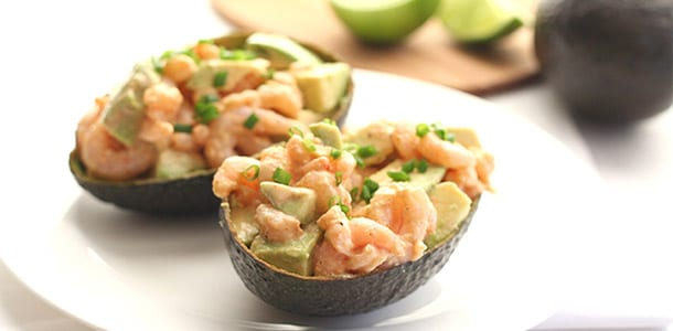 Spicy Shrimp and Avocado Salad from All Day I Dream About Food