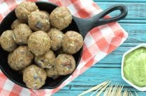 Bacon Ranch Meatballs from Plaid and Paleo on www.EverydayMaven.com