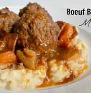 Boeuf Bourguignon Meatballs from Popular Paleo on www.EverydayMaven.com