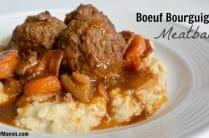 Boeuf Bourguignon Meatballs from Popular Paleo on www.EverydayMaven.com