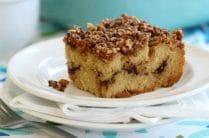 Grain Free Cinnamon Crumb Coffee Cake from Everyday Grain Free Baking | The Nourishing Home