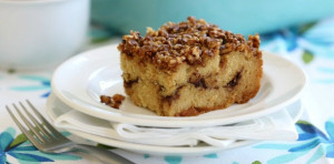 Grain Free Cinnamon Crumb Coffee Cake from Everyday Grain Free Baking | The Nourishing Home