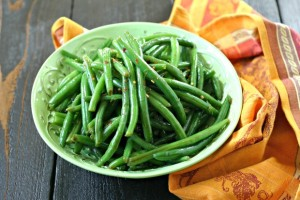 Chilled Green Bean Salad with Dill {Vegan}