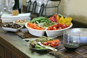 Avocado Ranch Dip and Entertaining with Chinet® Cut Crystal® PLUS a Giveaway!