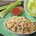 Buffalo Chicken Salad from www.EverydayMaven.com