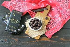 Frozen Dark Chocolate Covered Blueberries PLUS a Sweepstakes!