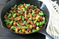 Low Carb Chorizo and Jicama Skillet from www.everydaymaven.com