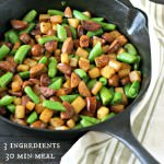 Low Carb Chorizo Skillet from www.EverydayMaven.com