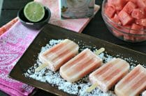 'Otai Coconut Watermelon Popsicles from www.EverydayMaven.com