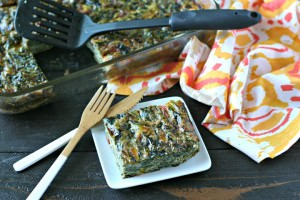 Vegetarian Breakfast Casserole