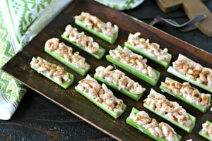 Old Bay Shrimp Celery Boats from www.EverydayMaven.com