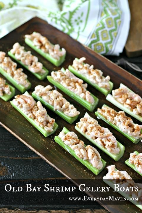 Fresh Meals Delivered >> Old Bay Shrimp Celery Boats