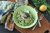 Zucchini Noodles with Clam Sauce from www.EverydayMaven.com