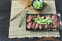 Hoisin Marinated Skirt Steak from www.EverydayMaven.com
